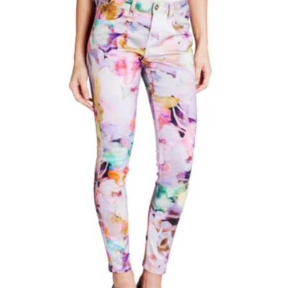 Ted Baker London Denim - Ted Baker London Electric Daydream Floral Print